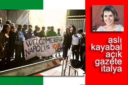İTALYA… Gorino'da göçmen avı