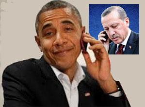 Tayyip Erdoğan ve Obama telefonda...