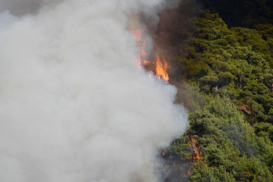 Manavgat'ta orman yangını 2. gününde: 3 can kaybı