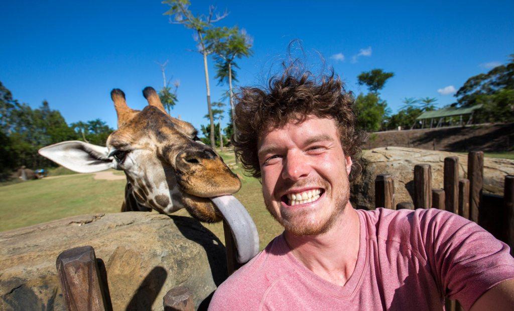 Allan Dixon'un hayvanlarla çektiği birbirinden eğlenceli fotoğraflar