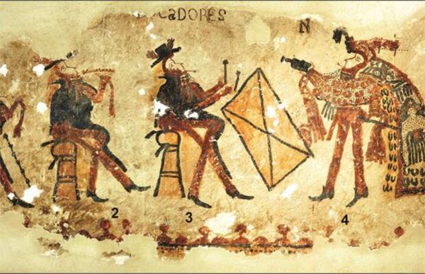 Guatemala'da Maya duvar resimleri keşfedildi