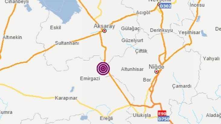 İç Anadolu'da deprem! 5.1