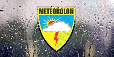 Meteoroloji yağmur, sel ve dolu uyarısı yaptı!