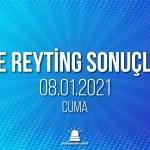 8 Ocak 2021 Cuma reyting sonuçları