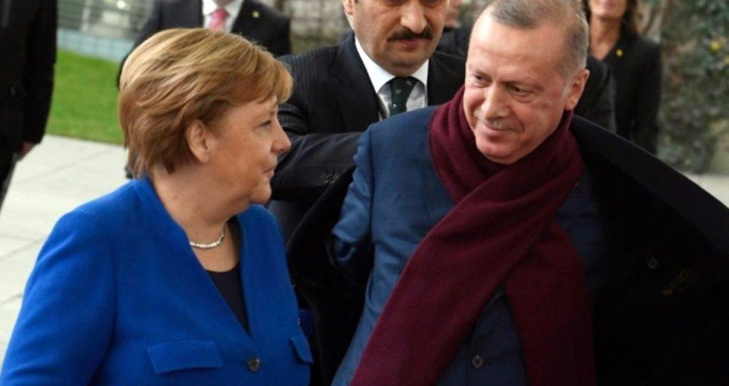 Erdoğan-Merkel görüşmesi olumlu geçti!
