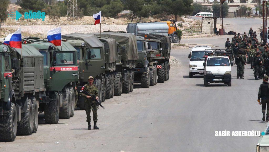 İsrail Suriye'ye saldırdı Rus füzeleri önledi!