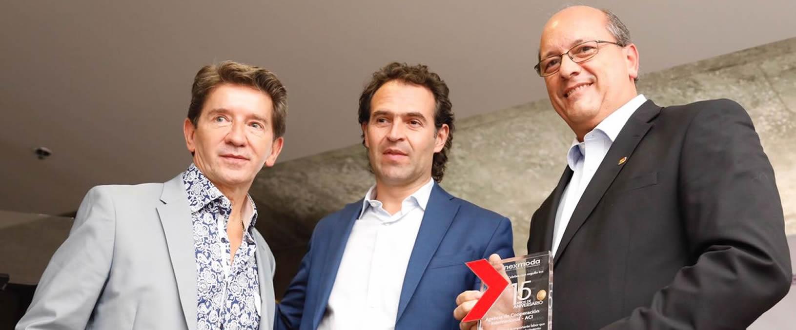 Inexmoda reconoció los 15 años de gestión de la ACI Medellín