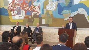 El Gobierno de Brasil condecoró al Alcalde de Medellín