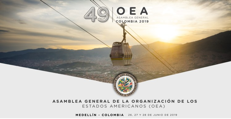 Medellín será la sede de la 49 Asamblea General de la OEA