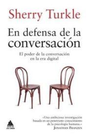 """Portada del libro """"En defensa de la conversación"""""""
