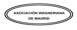 Asociación Wagneriana de Madrid logo