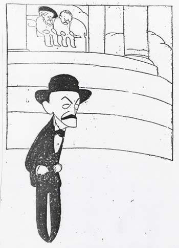 Caricatura de Wagner