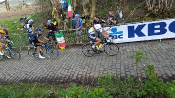 World champ and eventual winner Peter Sagan making his move