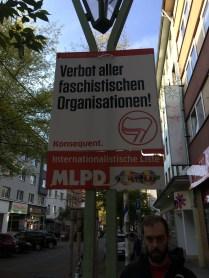"""""""Forbid all Fascist organizations!"""""""