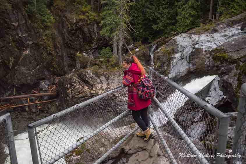 Nairn Falls, Pemberton, British Columbia