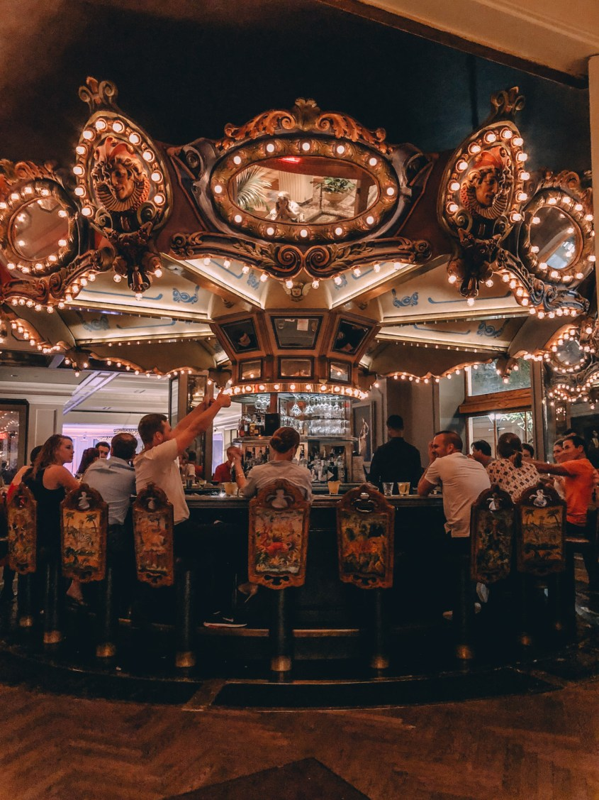 Carousel Bar in The Monteleone Hotel - 2 days in New Orleans