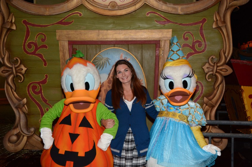 Donald & Daisy Duck at Mickey's Not So Scary Halloween Party - Disney CRP 17-18