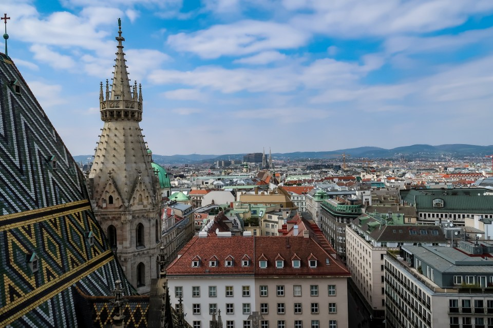 View Of Vienna From St Stephen's Cathedral