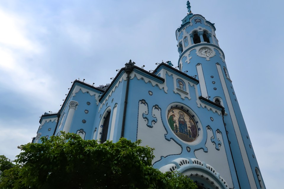 Church Of St. Elisabeth - The Blue Church