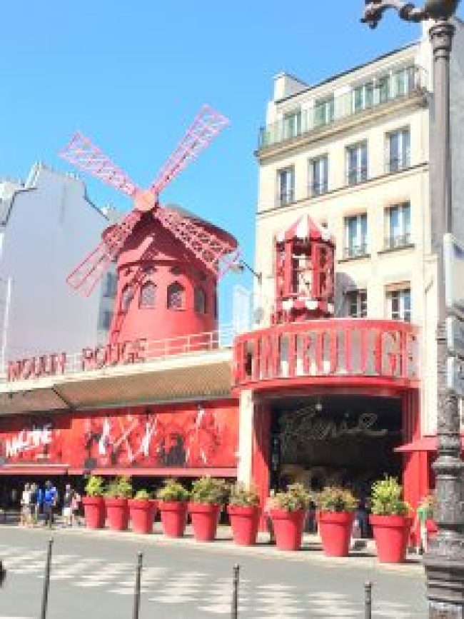 Moulin Rouge - Paris, France