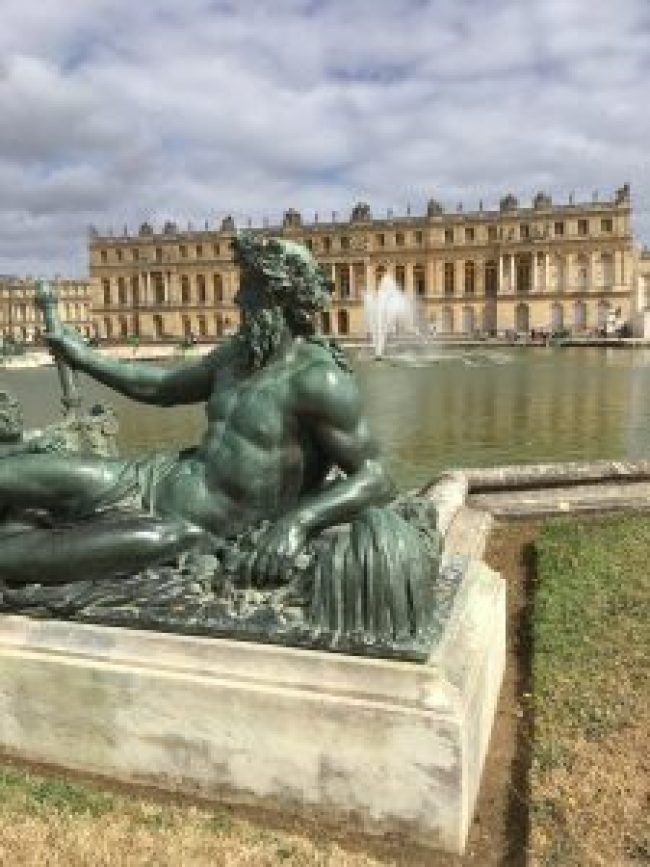 Fountains at Palace of Versailles