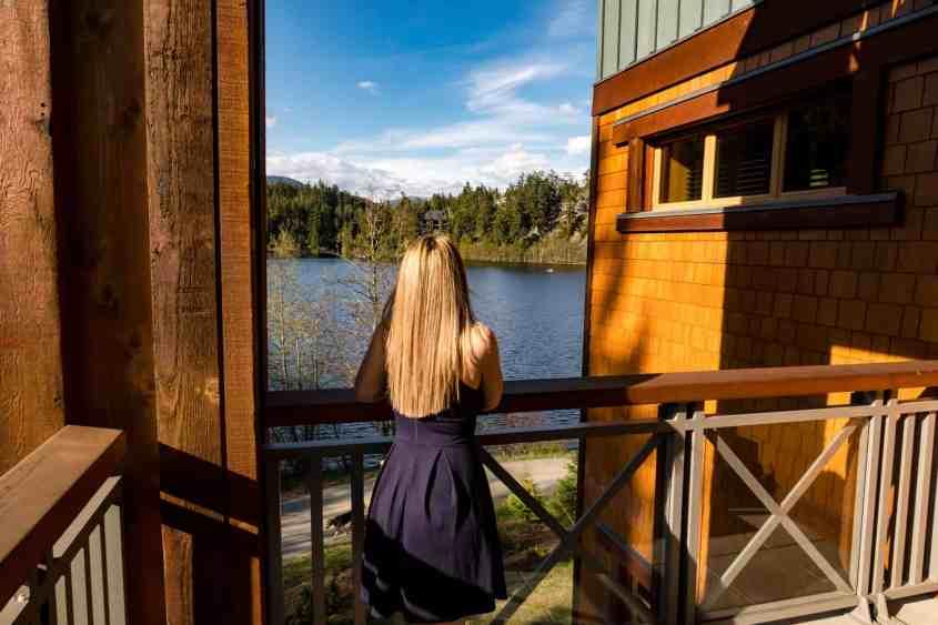 View Of Nita Lake From Nita Lake Lodge