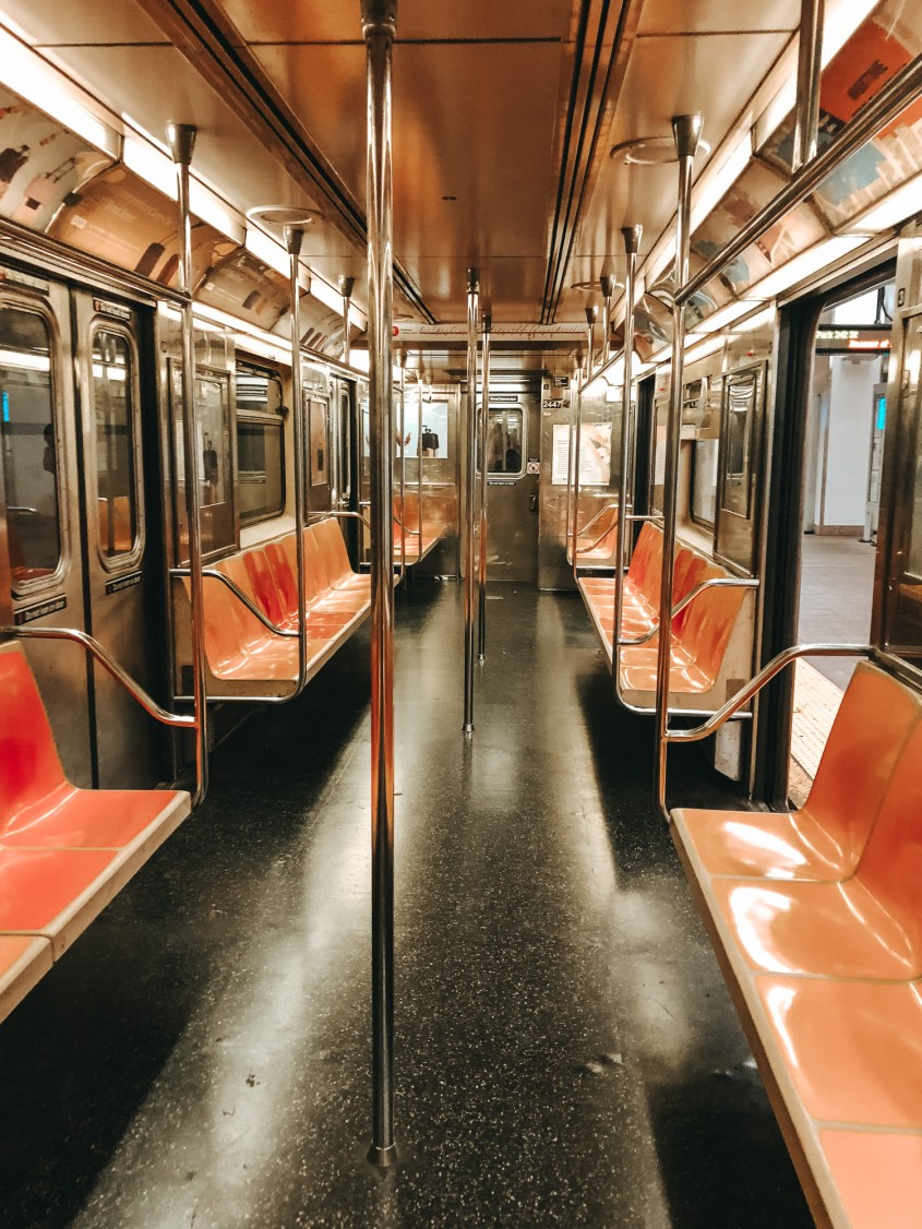 The New York Subway is the best way to get around New York in 4 days