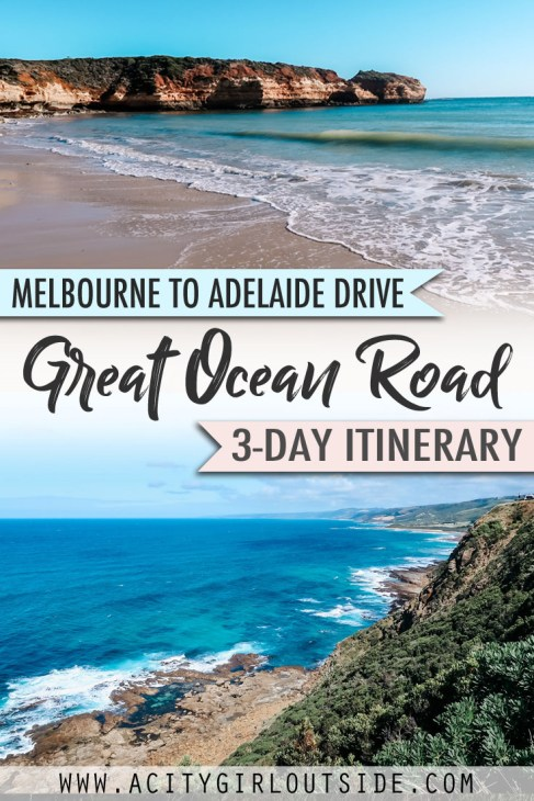 Great Ocean Road 3 day trip itinerary from Melbourne to Adelaide Australia