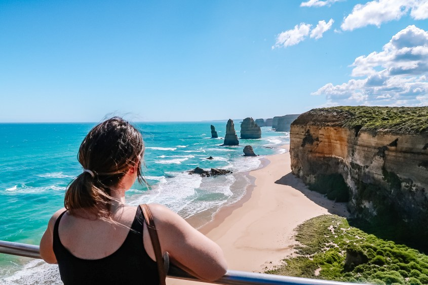 Twelve Apostles in Port Campbell Naional Park is one of the top attractions on the Great Ocean Road