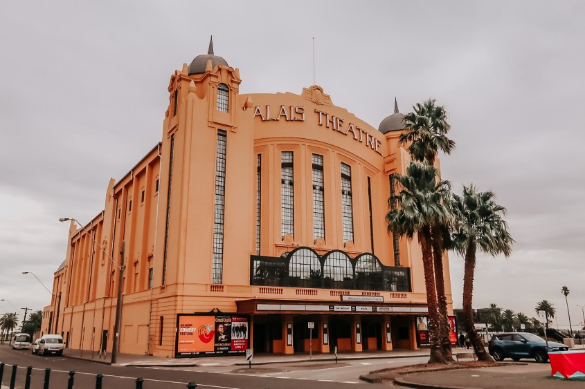 The Palais Theatre in St. Kilda. 5 Day Melbourne Itinerary