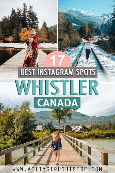 Most Instagrammable places in Whistler, Canada