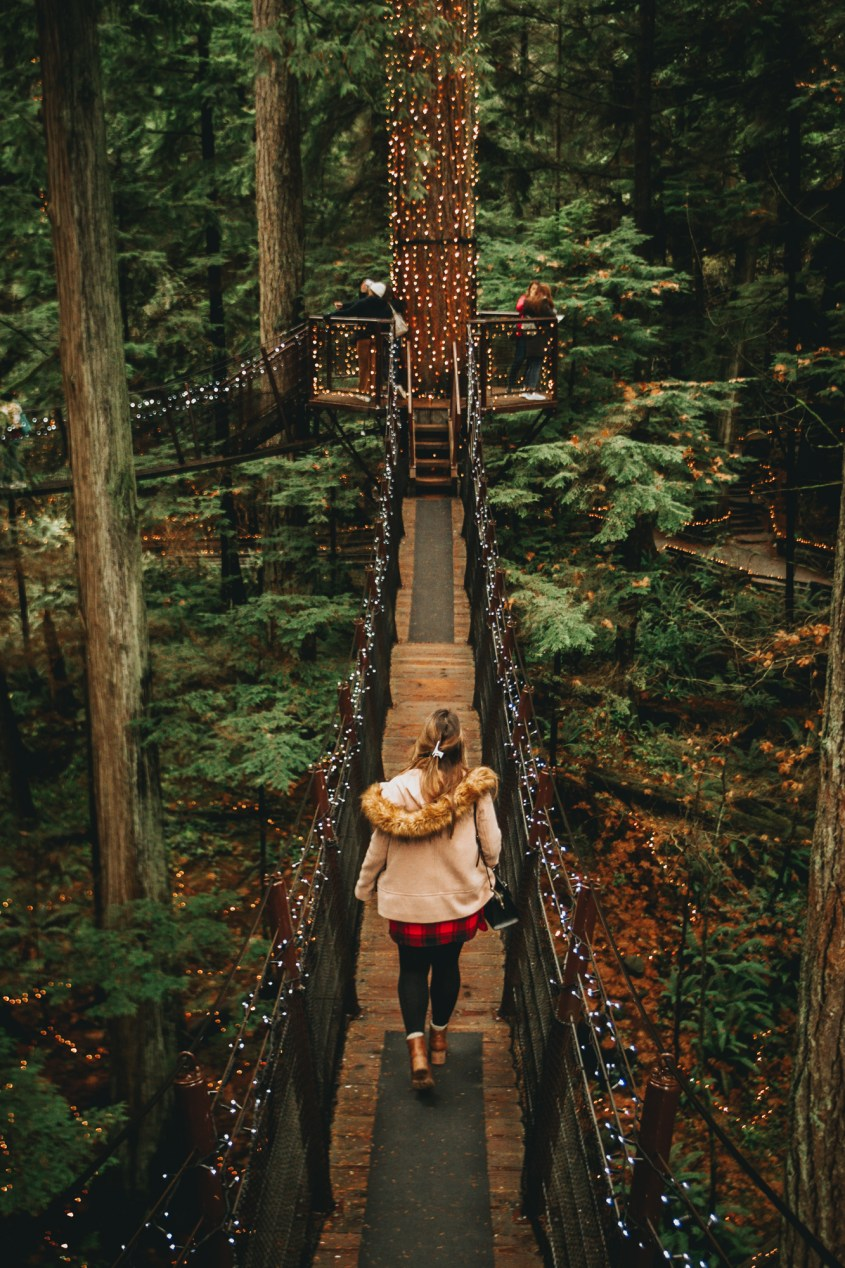 The Capilano Suspension Bridge Park is one of Vancouver's top attractions.