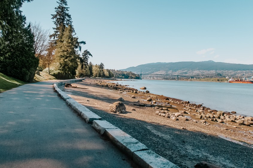 The Seawall inside Stanley Park is one of Vancouvers best Instagram spots