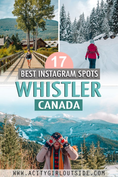 Best photography locations in Whistler, Canada