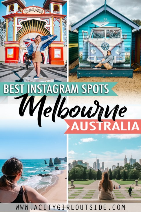 Most Instagrammable places in Melbourne Australia