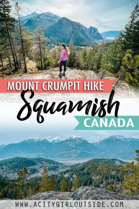 Mount Crumpit hike in Squamish, Canada