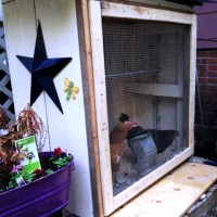 A homemade bar converted to a Chicken Coop...an upcycle story