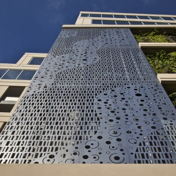 Perforated Metal Screen Wall, 2012