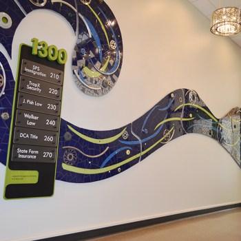 1300 Lagoon interior signage