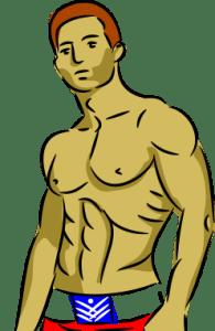 cartoon-man-hunk