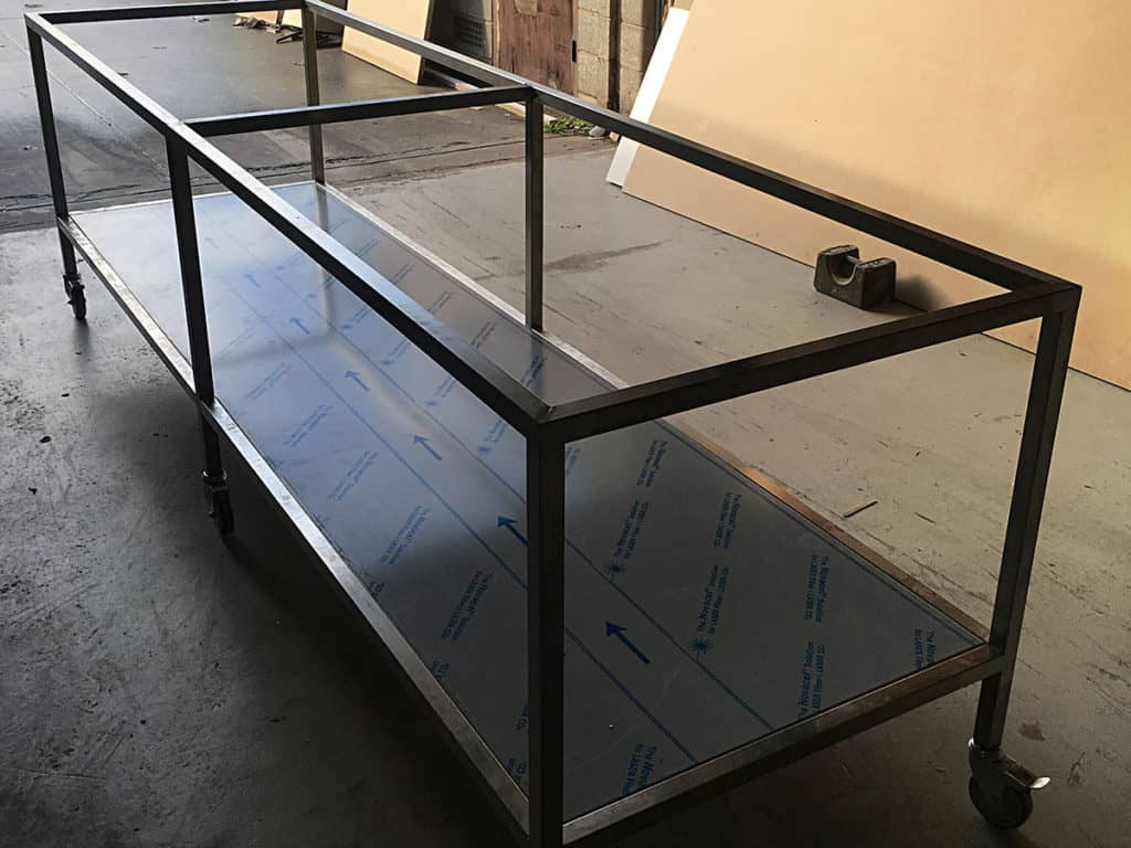 Tables Frames And Trolleys Ackland Stainless Steel