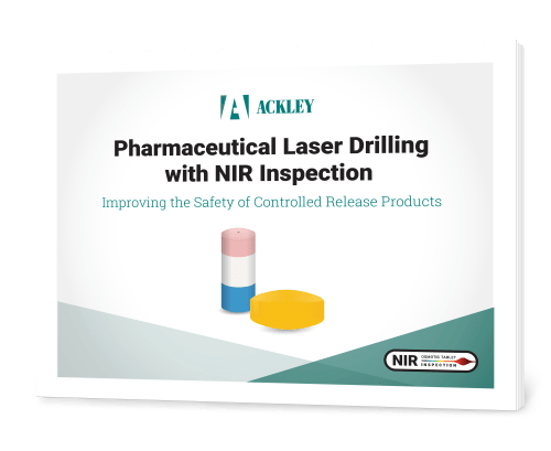 Pharmaceutical Laser Drilling with NIR Inspection Whitepaper Cover