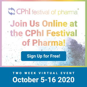 CPHI Festival of Pharma 2020 Sign Up for Free