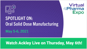Live at Virtual Pharma Expo 2021!