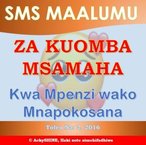 SMS za Kuomba Msamaha