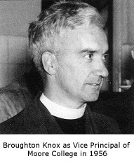 Broughton Knox in 1956