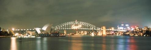 Sydney Harbour Bridge 2nd January 2000