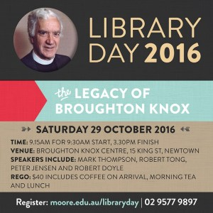 MTC Library Day 2016
