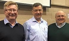 Mark Thompson, Glenn Davies and Ashley Null