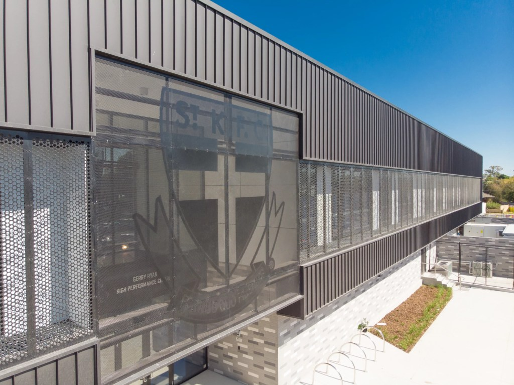 Moorabbin 06 1024x767 - COLORBOND® steel Matt a winner for St Kilda Football Club